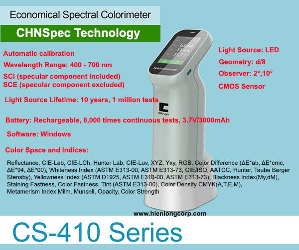 CHNSpec CS-410 Máy so màu quang phổ